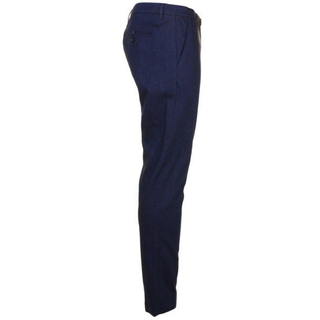 Mens Dark Blue Tommie Mini Design Trousers