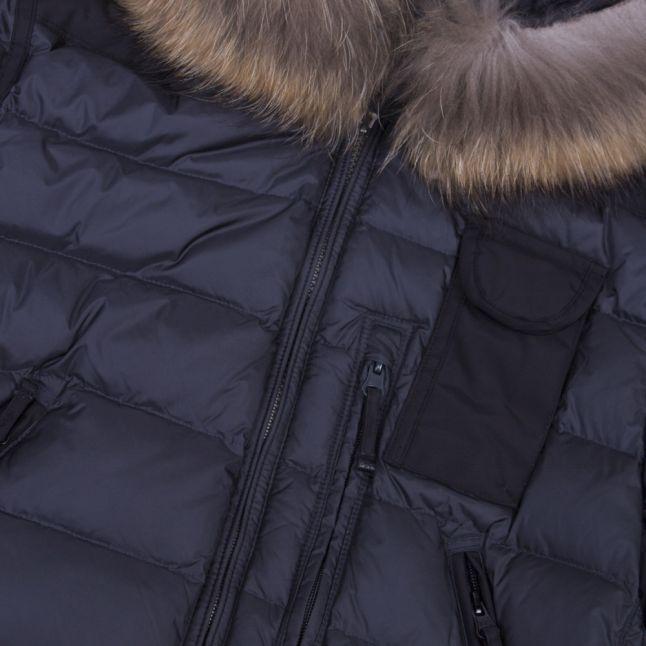 Womens Nine Iron Skimaster Padded Hooded Jacket