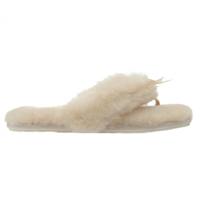 Womens Natural Fluff Flip Flop II Slippers