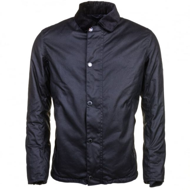 Steve McQueen™ Collection Mens Navy Sandford Waxed Jacket