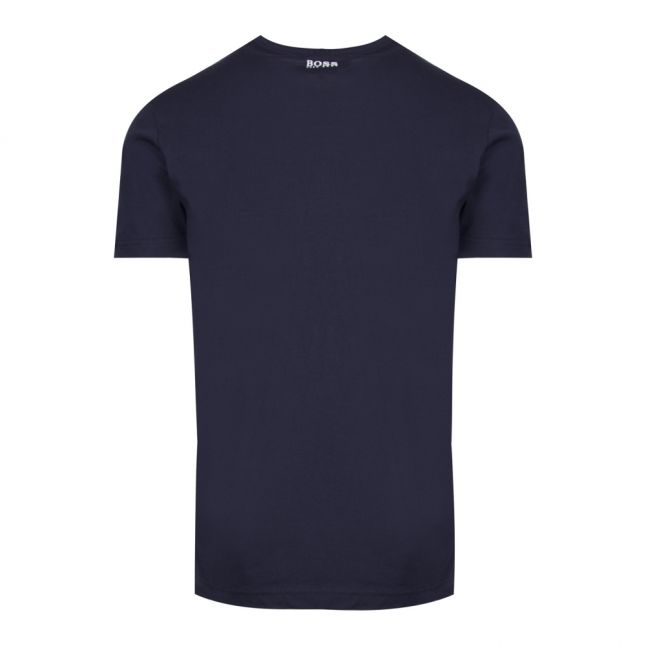 Athleisure Mens Navy Tee 7 S/s T Shirt