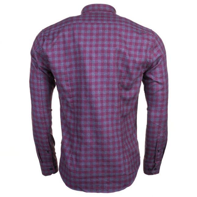 Mens Charcoal Skid L/s Shirt