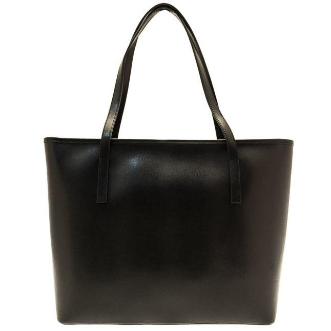 Womens Black Denny Leather Shopper Bag