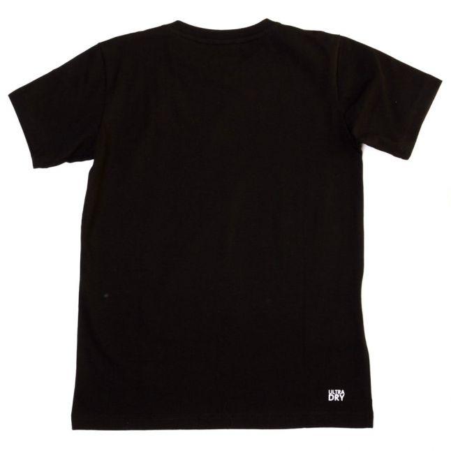 Boys Black Croc S/s Tee Shirt (8yr+)