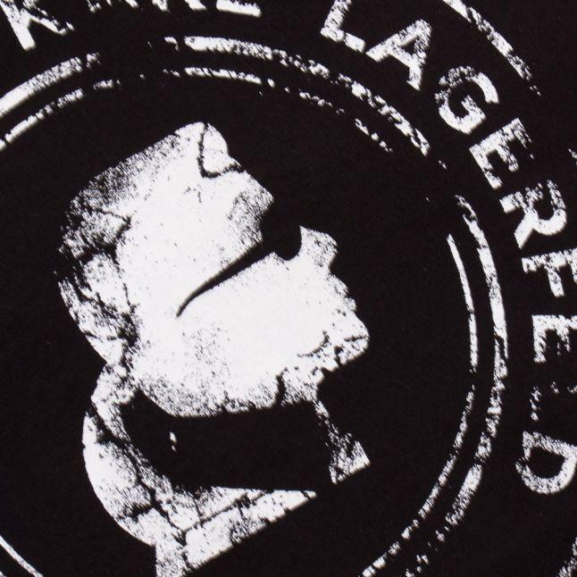 Karl Lagerfeld Boys Black KARL S/s Tee Shirt