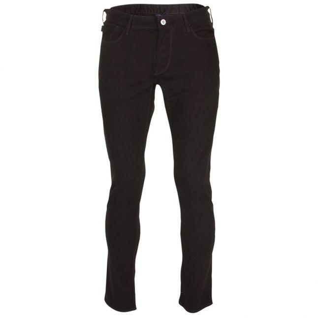 Mens Black Wash J06 Slim Fit Jeans