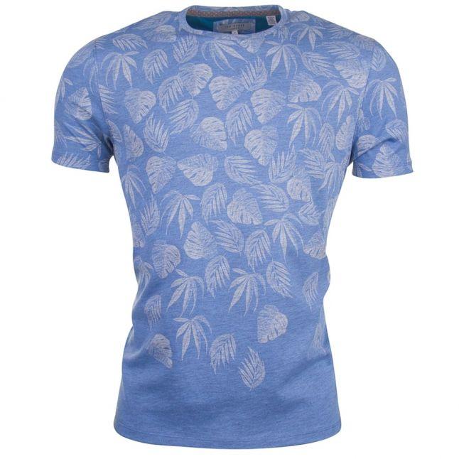 Mens Blue Montana S/s Tee Shirt
