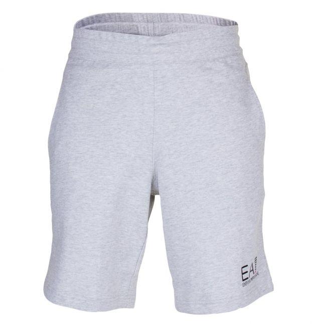 Mens Light Grey Train Core ID Bermuda Shorts