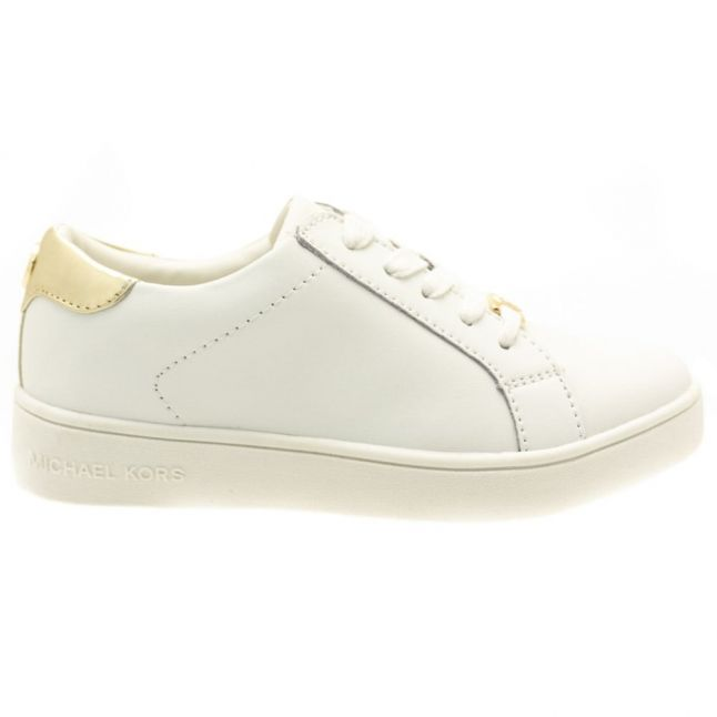 Girls White Zia Ivy Irving Trainers (31-36)