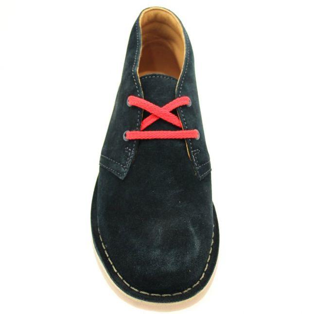 Junior Blue Suede Desert Boot (13-2)