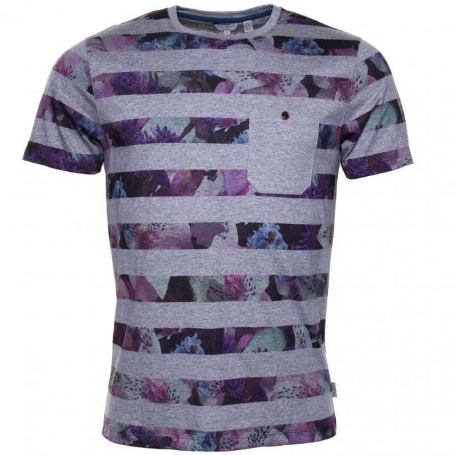 Mens Pink Aldale S/s Tee Shirt