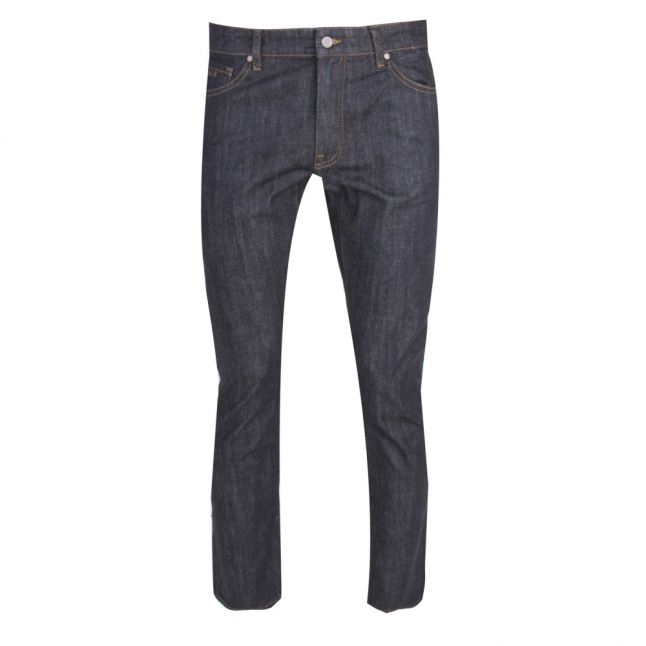 Casual Mens Dark Blue Maine Regular Fit Jeans