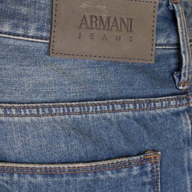 Mens Blue J06 Slim Fit Jeans