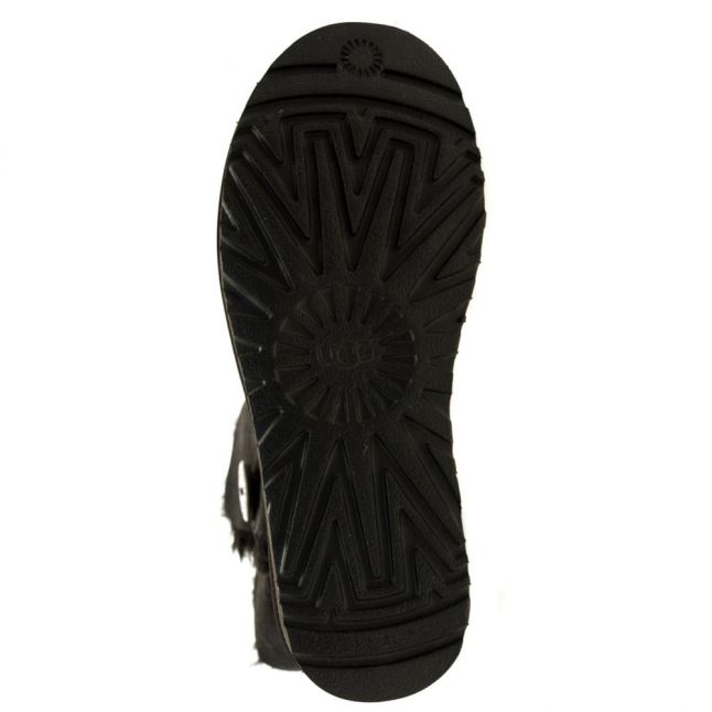 Womens Black Bailey Button II Boots