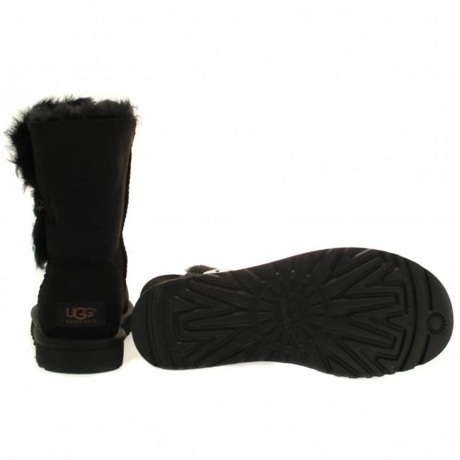 Womens Black Bailey Button Boots