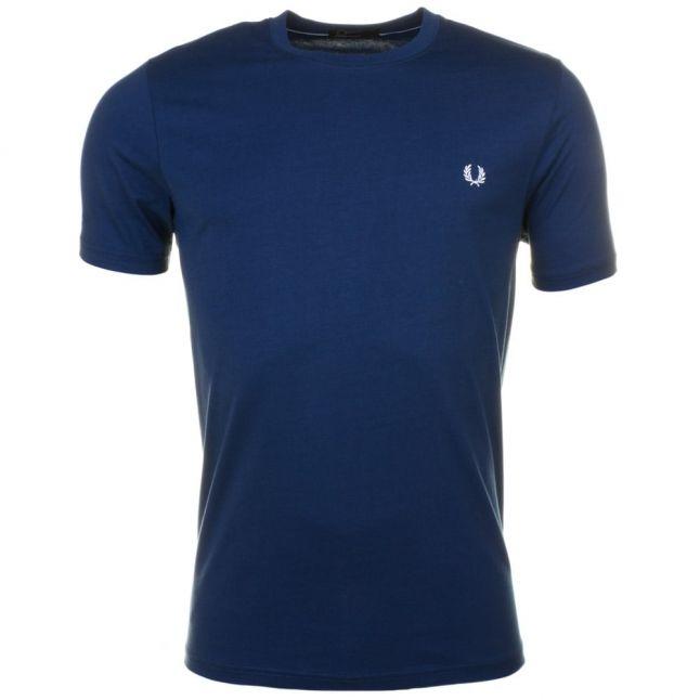 Mens Service Blue Classic Crew S/s Tee Shirt