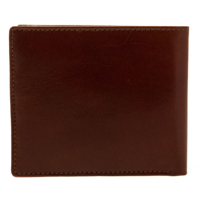 Mens Tan Breeze High Shine Leather Wallet