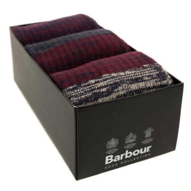 Lifestyle Mens Marl Kendal 3 Pack Sock Box Set