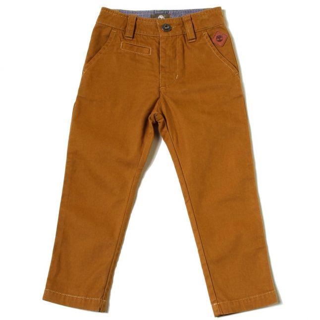Boys Brown Branded Pants