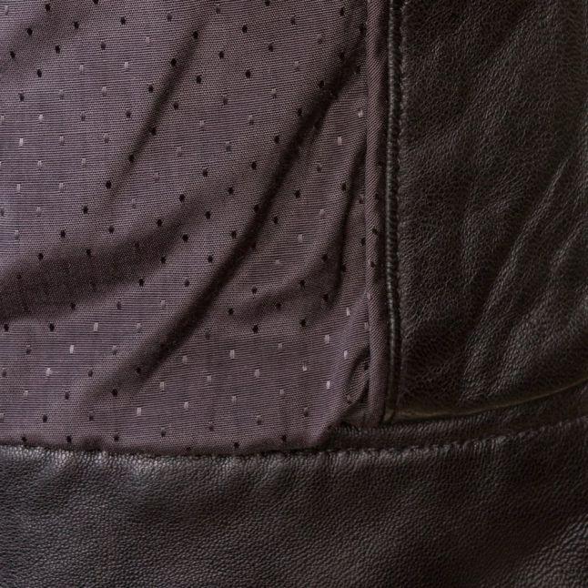 Womens Black Janabelle Leather Jacket
