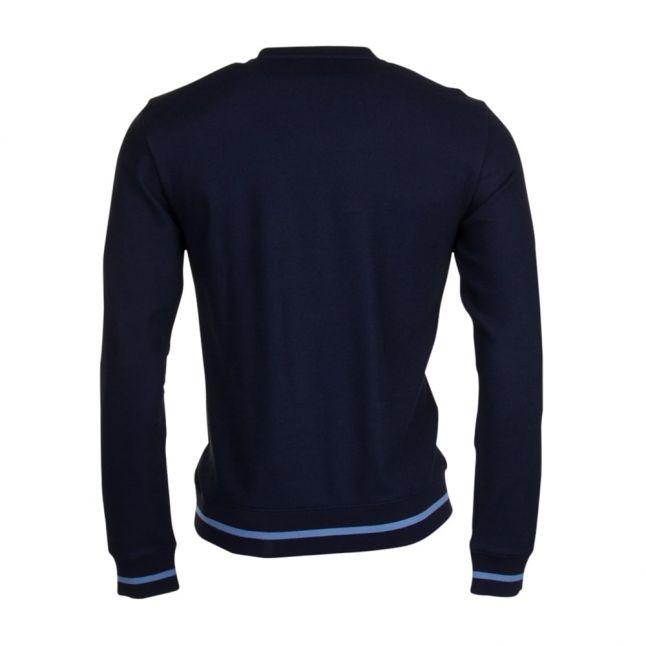 Mens Night Blue Tennis Classic L/s Sweat Top