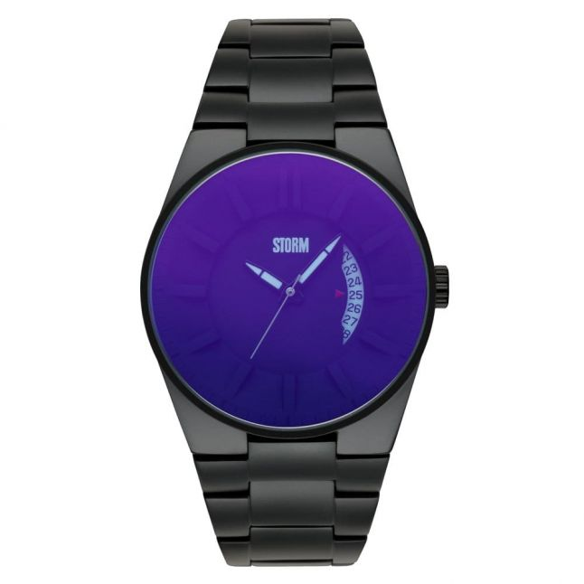 Mens Lazer Blue Blackout Watch