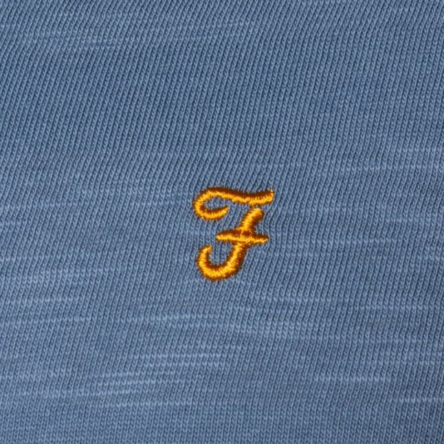 Mens Seal Langton Slub Crew S/s Tee Shirt