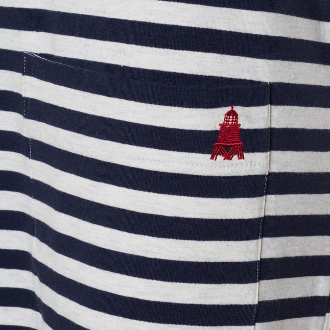 Lifestyle Womens Ecru Marl Brae Stripe Tunic Dress