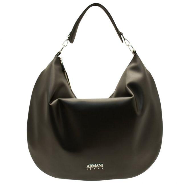 Womens Black Large Shoulder Bag