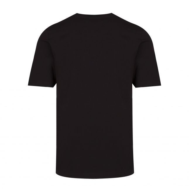 Mens Black Big Logo Regular Fit S/s T Shirt