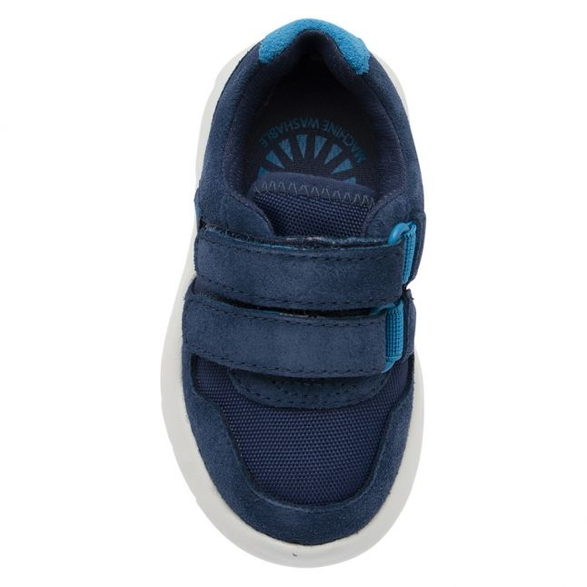 UGG Toddler Ensign Blue Tygo Velcro Trainers (5-11)