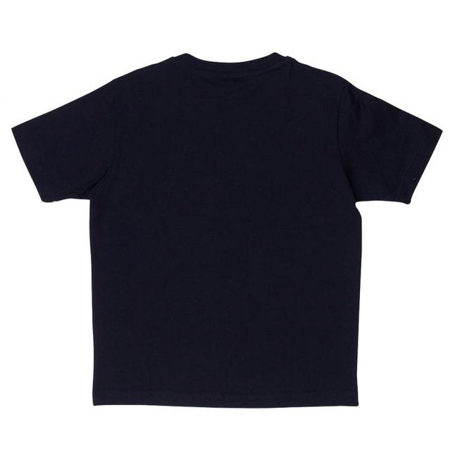 Paul & Shark Boys Navy Shark Print S/s Tee Shirt