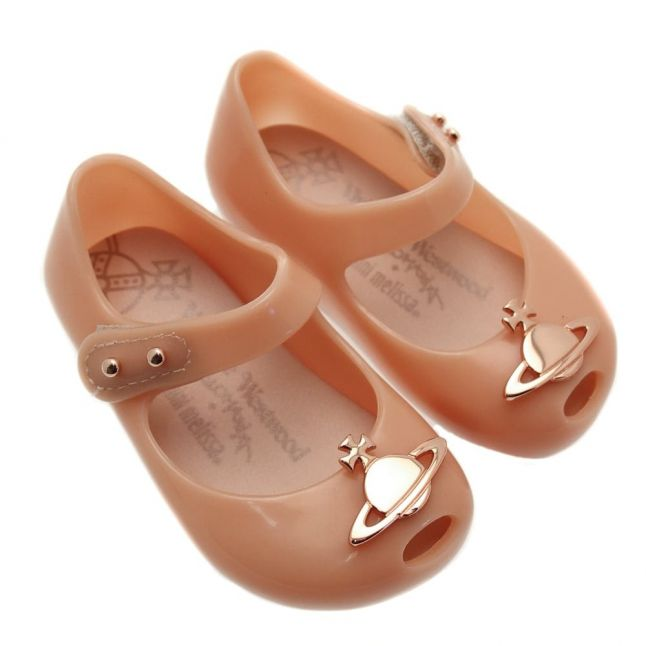 Vivienne Westwood Girls Rose Orb Patent Mini Ultragirl 15 Orb (4-9)