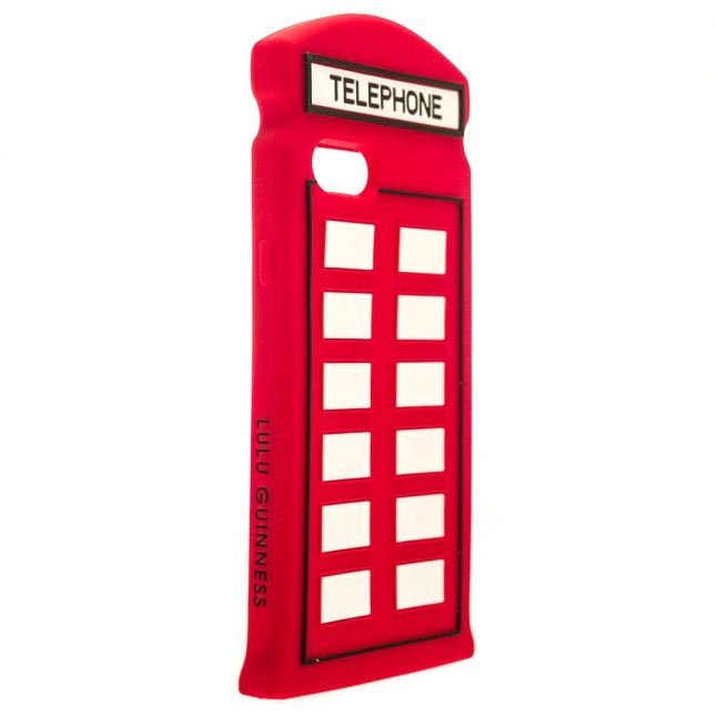 Womens Red Telephone Iphone 7 Case
