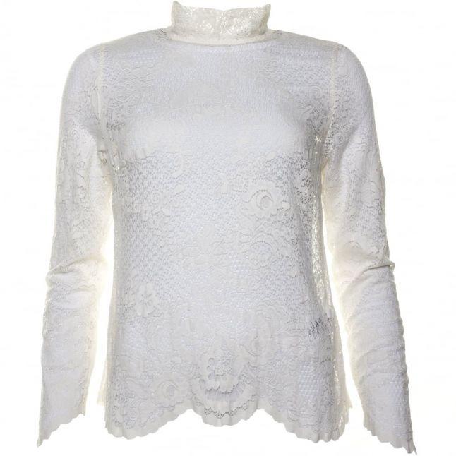 Womens Pristine Viloras L/s Lace Top