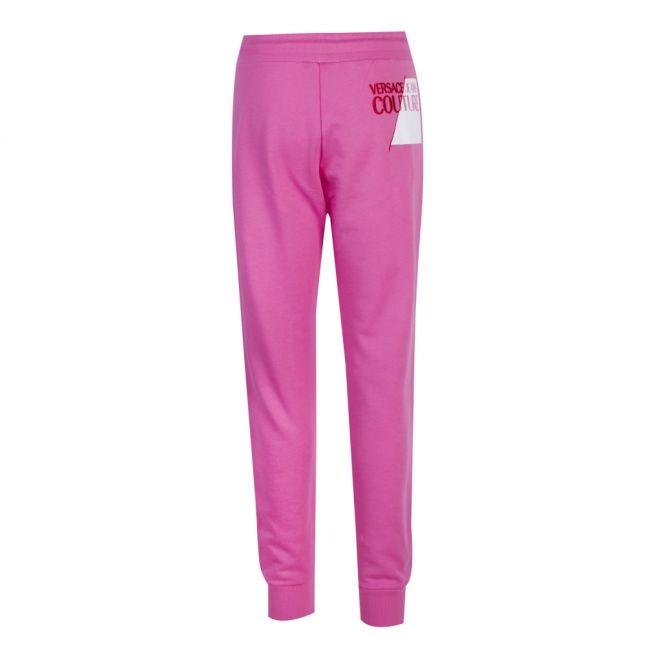 Womens Light Pink Branded Sweat Pants