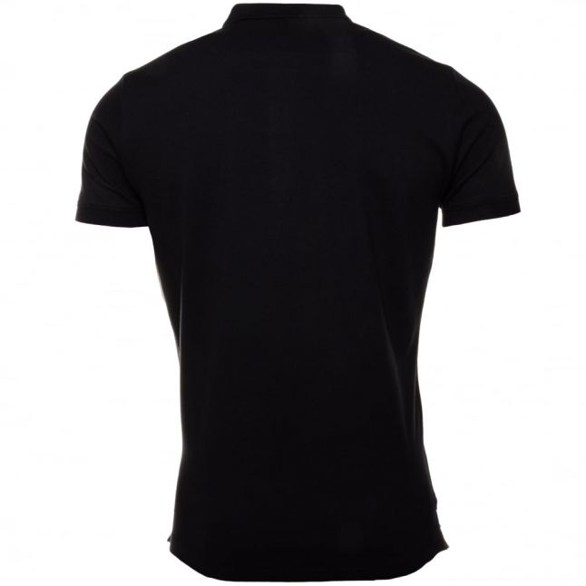 Mens Black T-Yahei S/s Polo Shirt