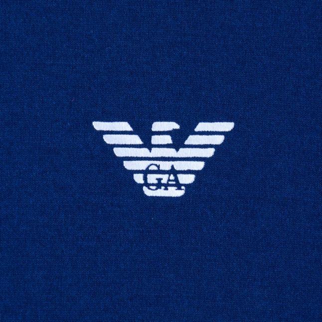 Mens Marine Small Logo Crew S/s Tee Shirt