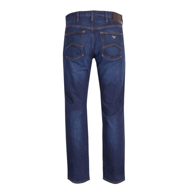 Mens Mid Blue J21 Regular Fit Jeans