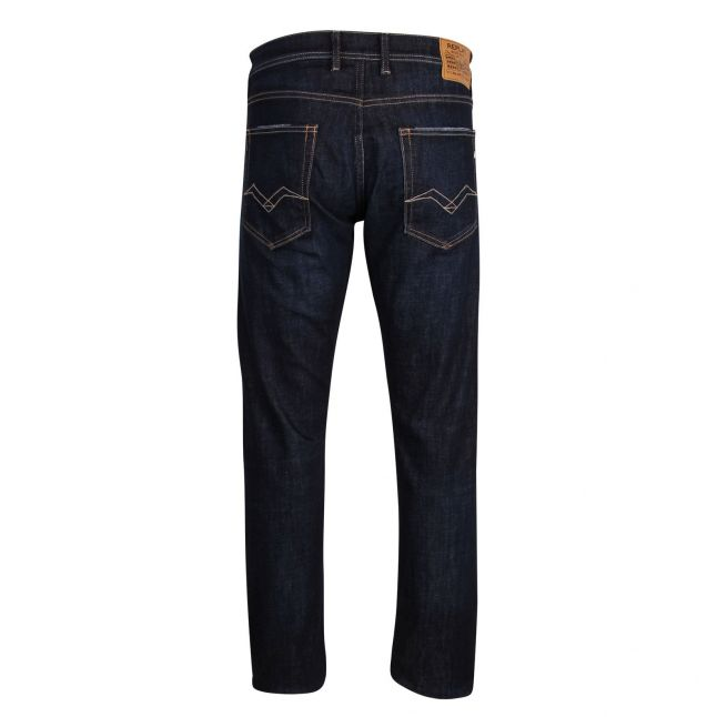 Mens Black Grover Straight Jeans