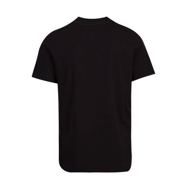 Mens Black Panel Logo S/s T Shirt