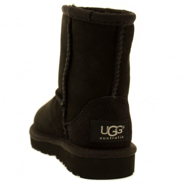Toddler Black Classic Short Boots (5-11)
