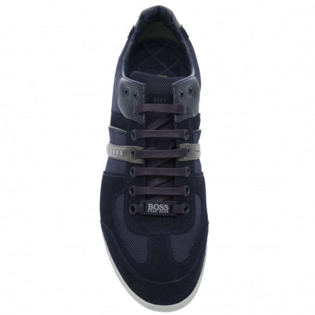 Athleisure Mens Open Blue Akeen Trainers
