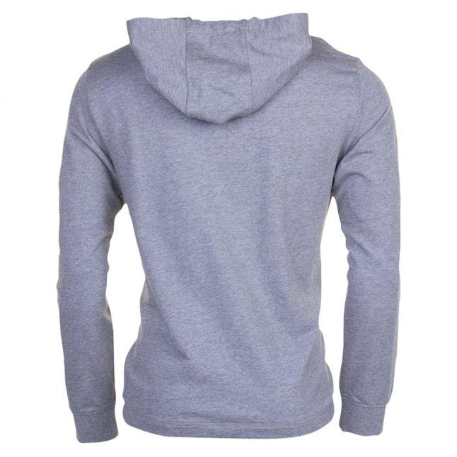 Mens Medium Grey Train Logo Series Hooded Sweat Top