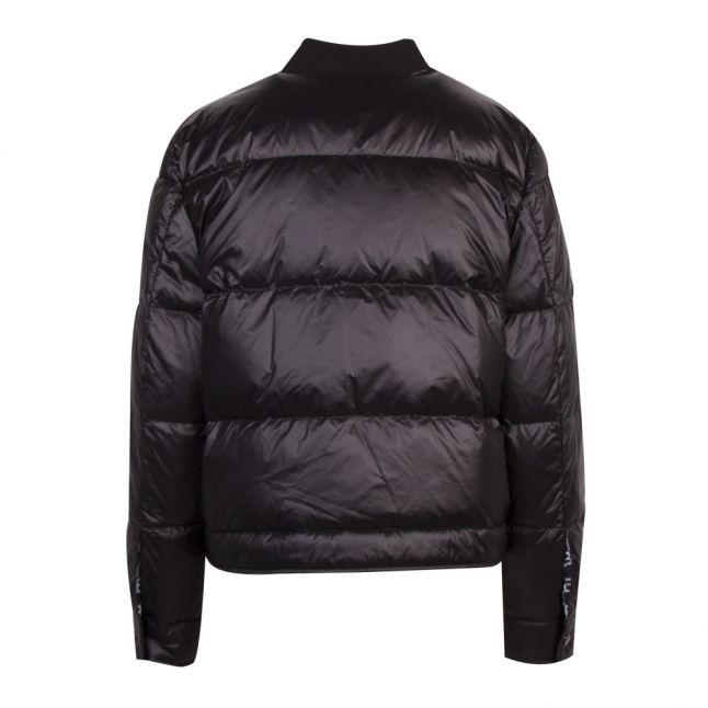 Casual Womens Black Obarking Padded Jacket