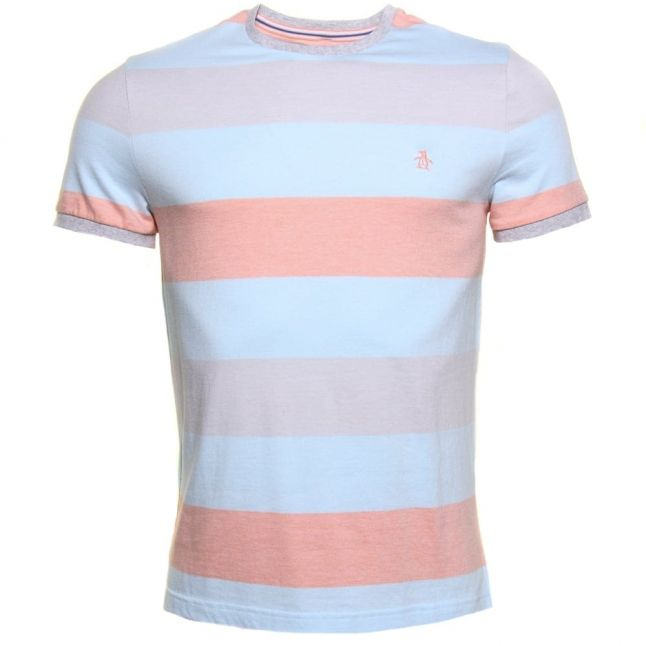 Mens High Rise Tenehi Birdseye Stripe S/s Tee Shirt