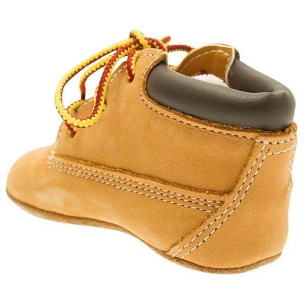 Baby Wheat Crib Bootie & Hat Set (0-4)
