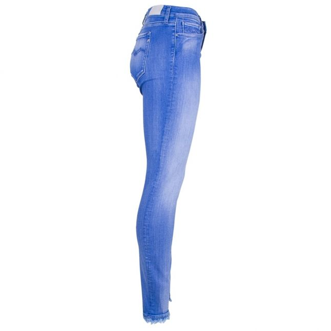 Womens Blue Wash High Rise Ankle-Zip Joi Skinny Fit Jeans
