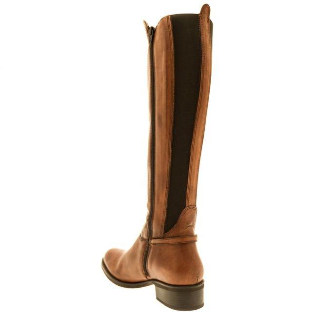 Womens Tan Scarlota Boots