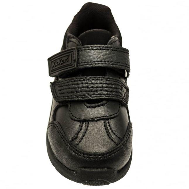 Infant Black Leather Moakie Reflex Strap (5-12)